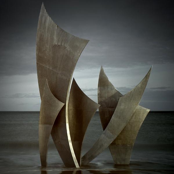 Sculpture en mer..