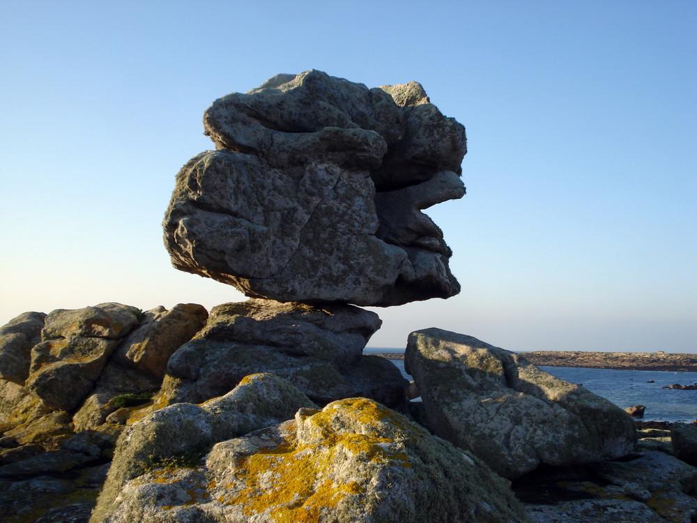 sculpture et erosion