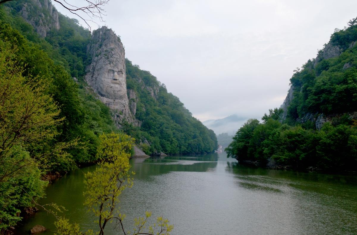 Sculpture in mountain