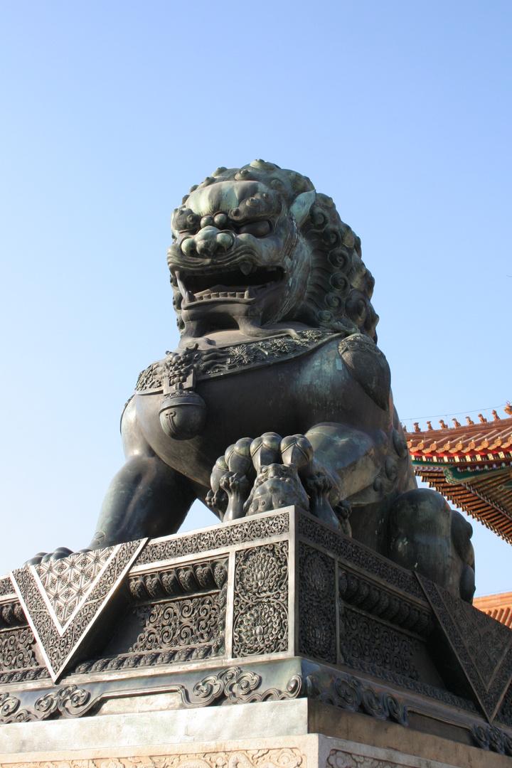 sculture de la citée interdite, BEIIJING