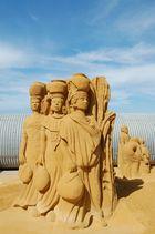 sculture de sable
