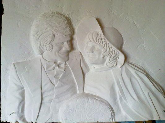 sculture sur platre