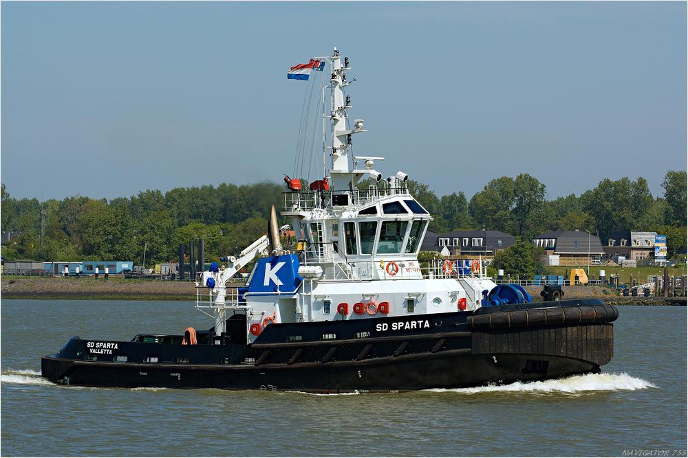 SD SPARTA, Tug / Rotterdam