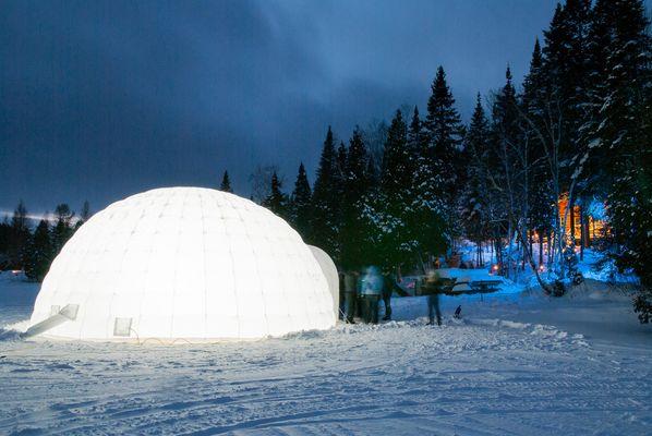 Se marier dans un igloo au Canada!