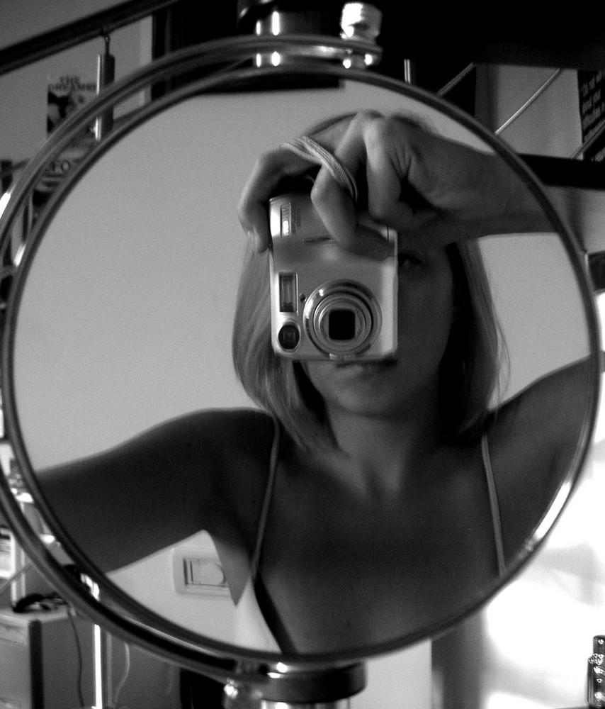se photographer dans le miroir