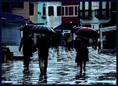 se piove a Burano