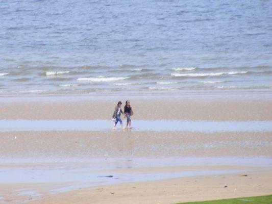 Se promener au bord de la mer