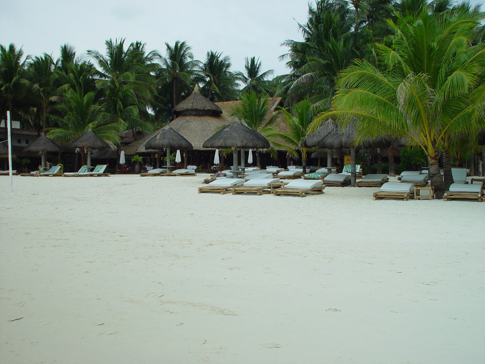 Sea breeze and white sand