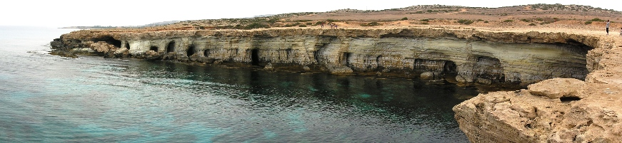 Sea Caves beim Kap Greco