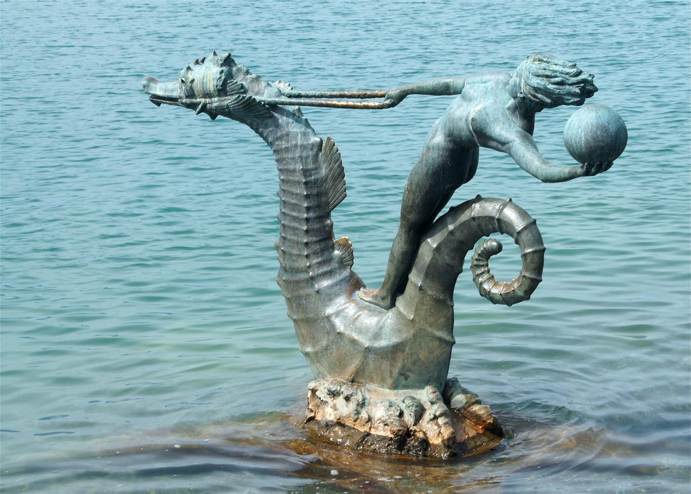 ..Sea Horses im See 1..