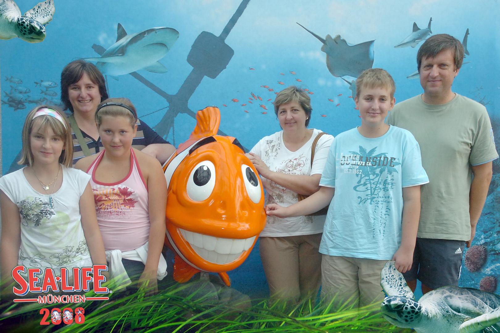 Sea Life Ausflug 2008
