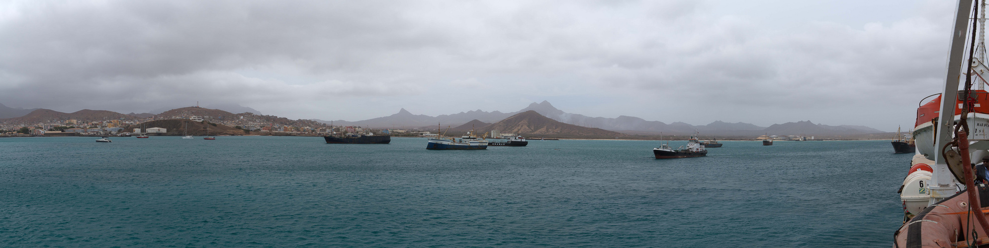 [ … Seafront of Mindelo ]