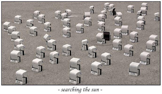 searching the sun