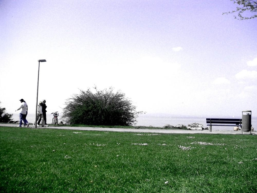 Seaside waLking