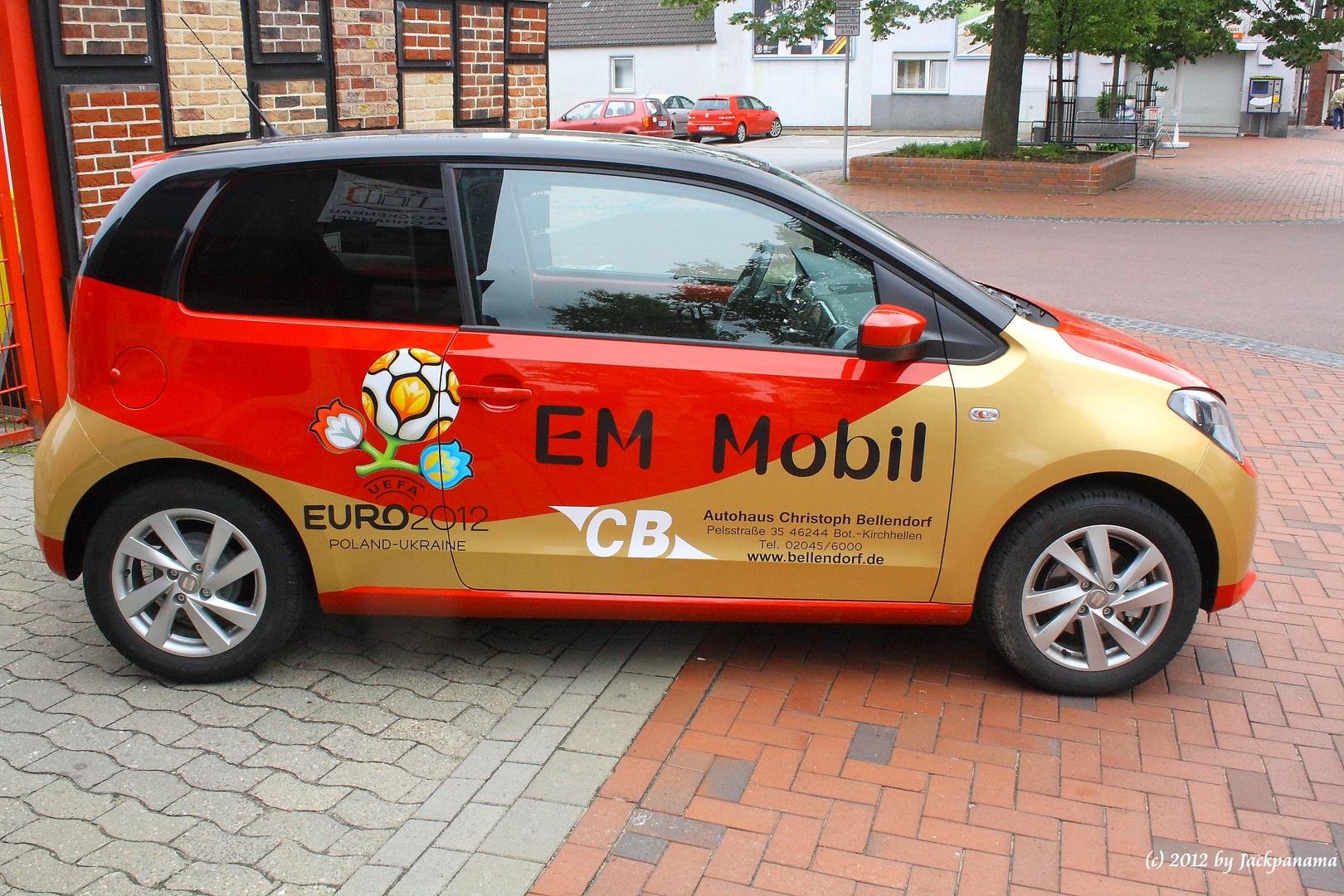 SEAT - Sondermodell zur Fußball-Europameisterschaft 2012 in Polen & Ukraine