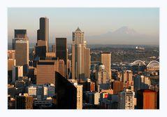 Seattle vor Mt.Rainier