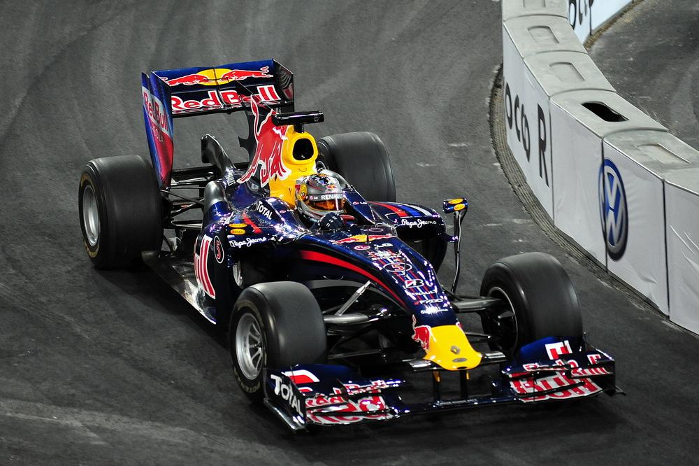 Sebastian Vettel Showrun beim RoC
