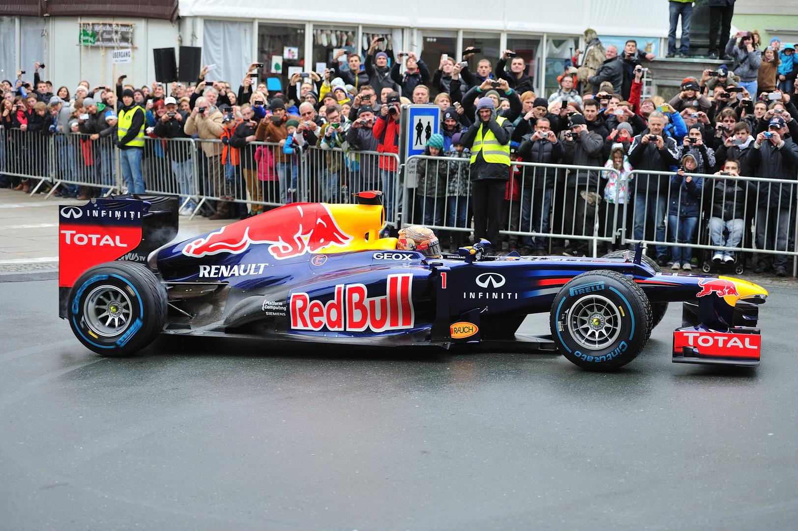 Sebastian Vettel Showrun Graz 2012