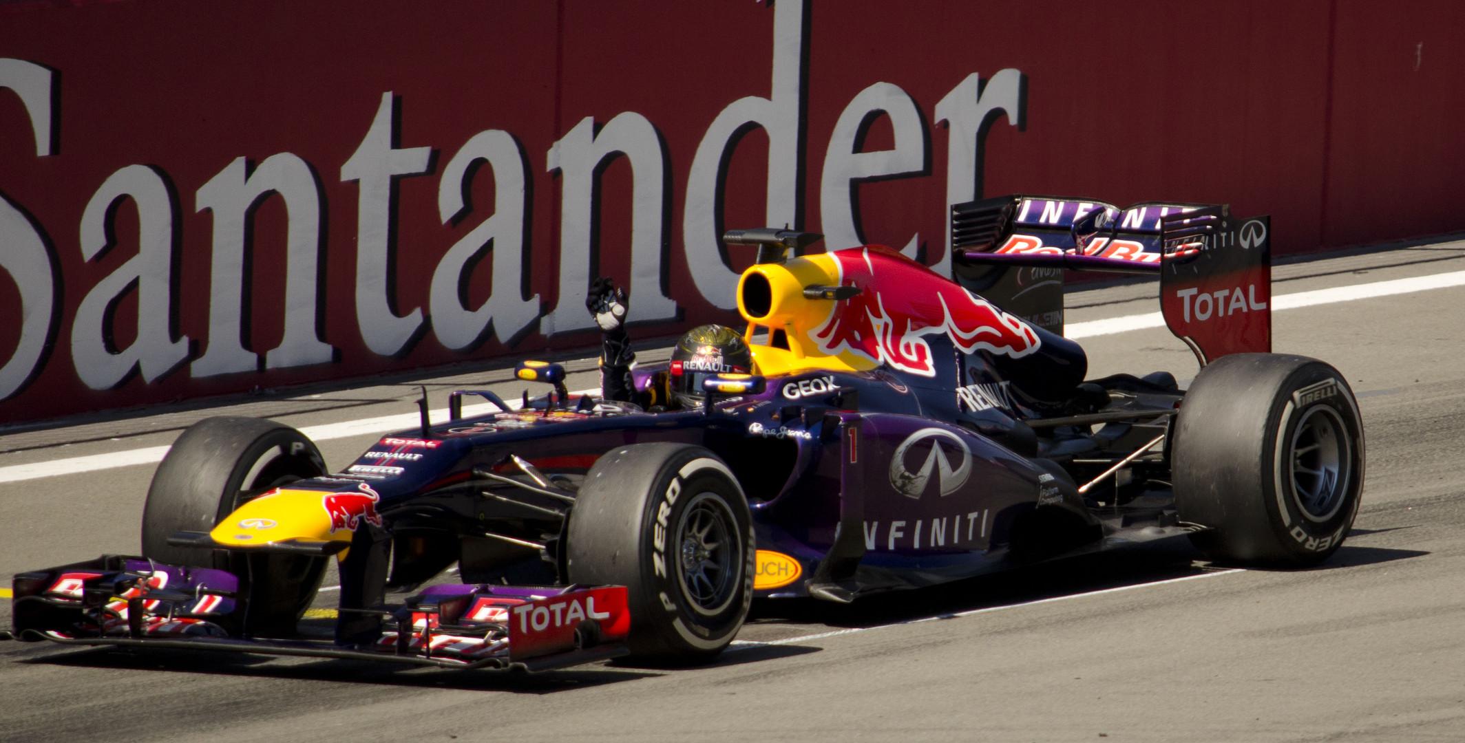 Sebastian Vettel Sieger GP Deutschland 2013