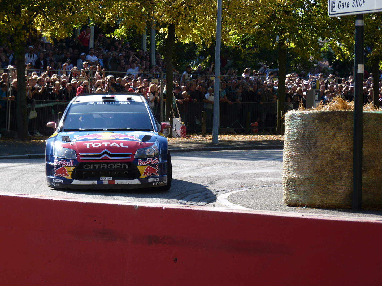 Sébastien Loeb au Rally d'Alsace à Haguenau!!!
