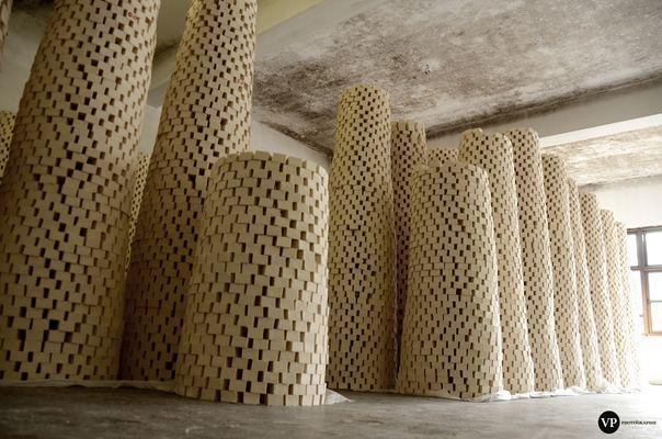 Séchage de Savons (Fabrique de Savon à Naplouse)