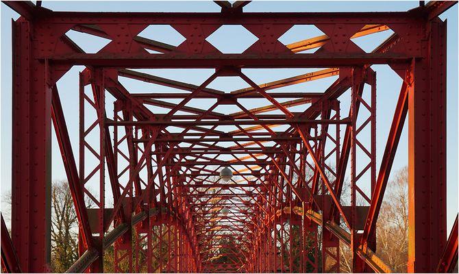 Sechserbrücke in Berlin Tegel