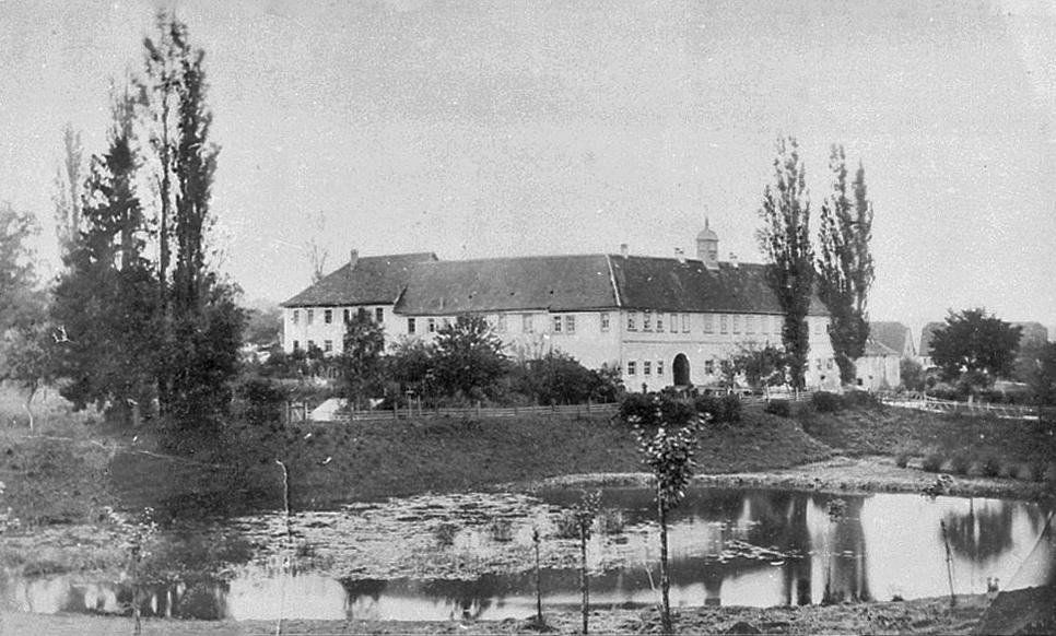 Seckendorffschloss Erkenbrechtshausen um 1876