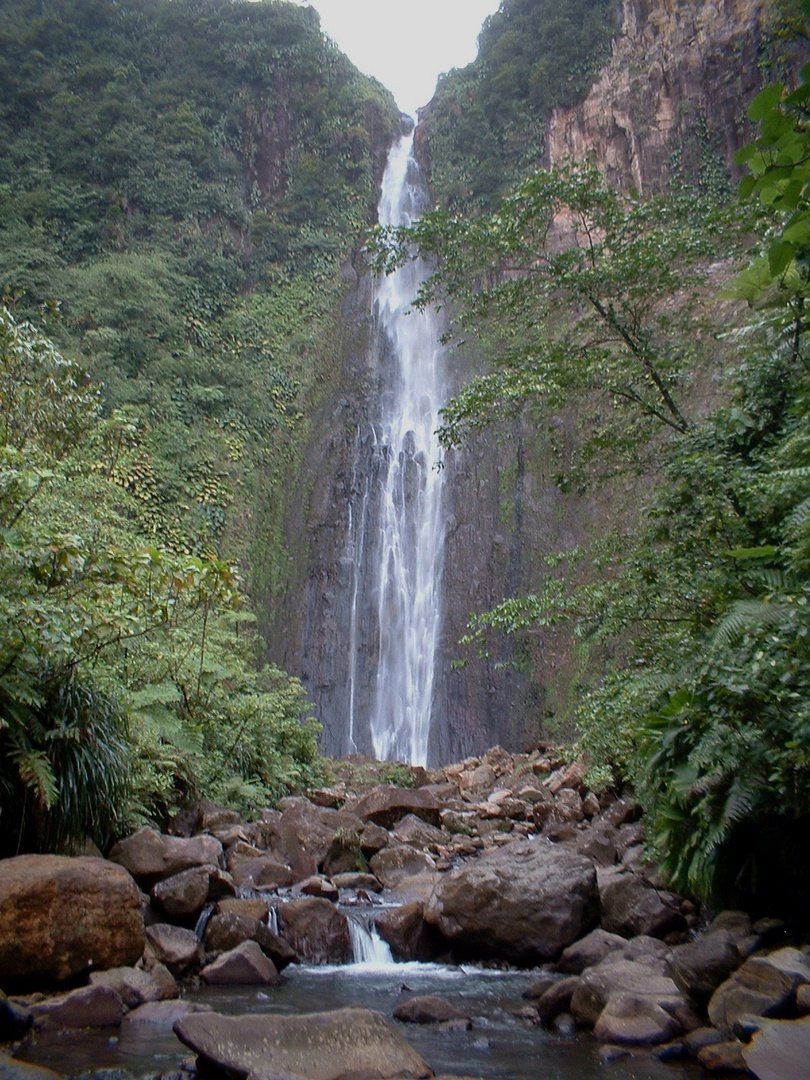 Second Carbet waterfall