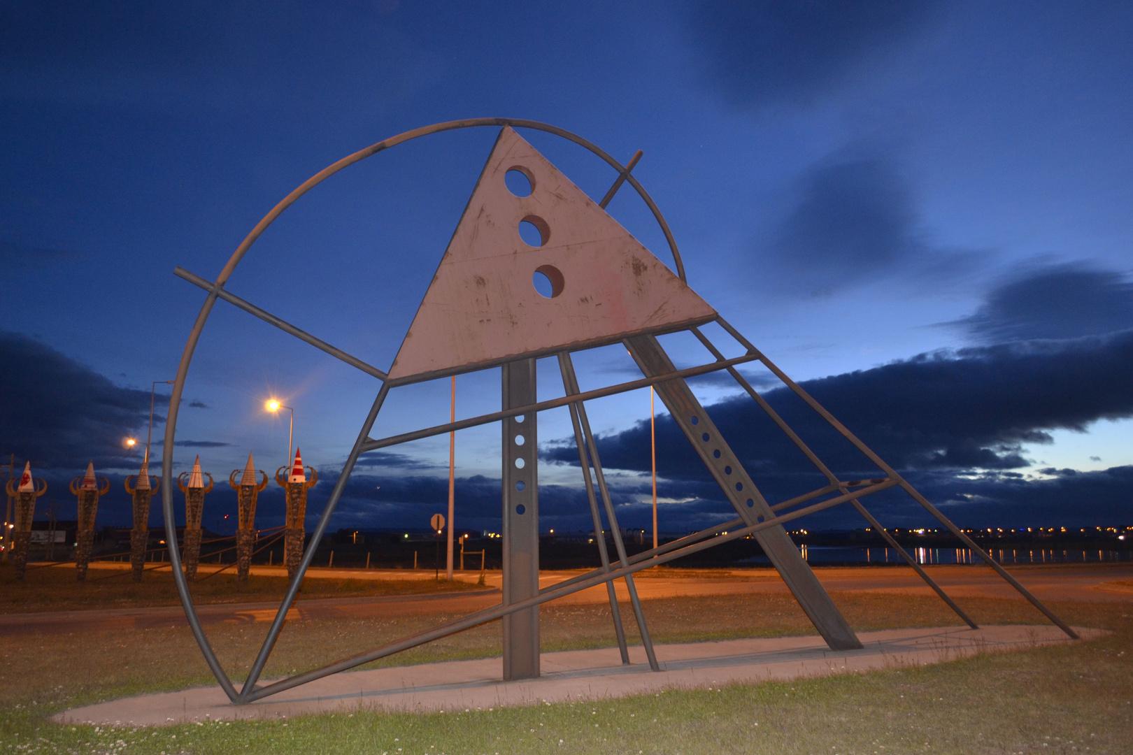 Sector tres puentes Punta Arenas -Chile