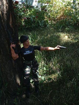 Security Action Man ;oP