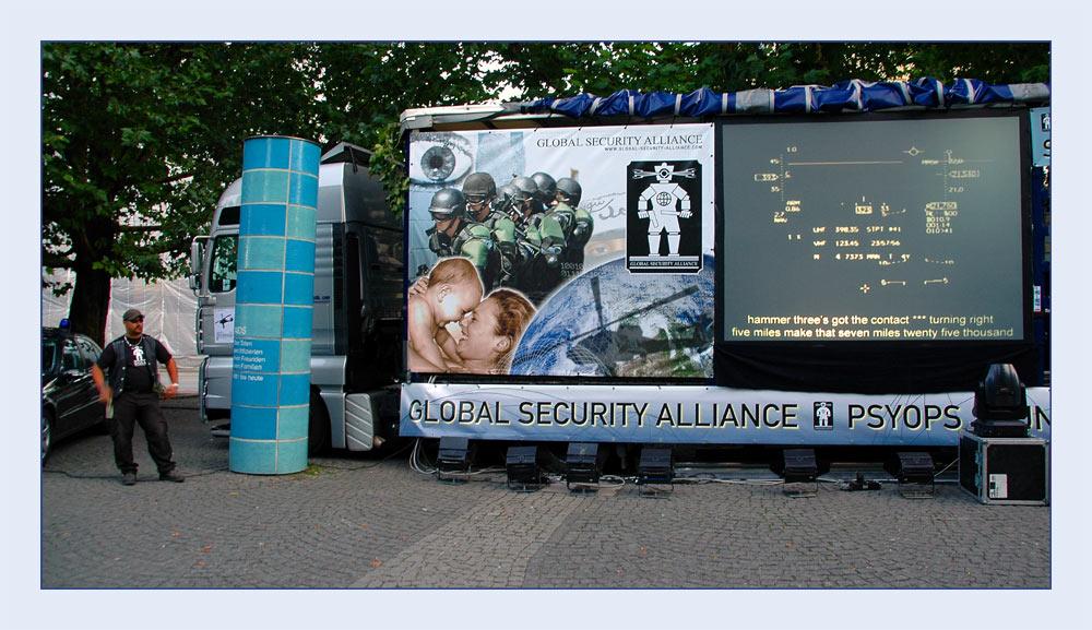 Security conscious - Sicherheitsbewußt