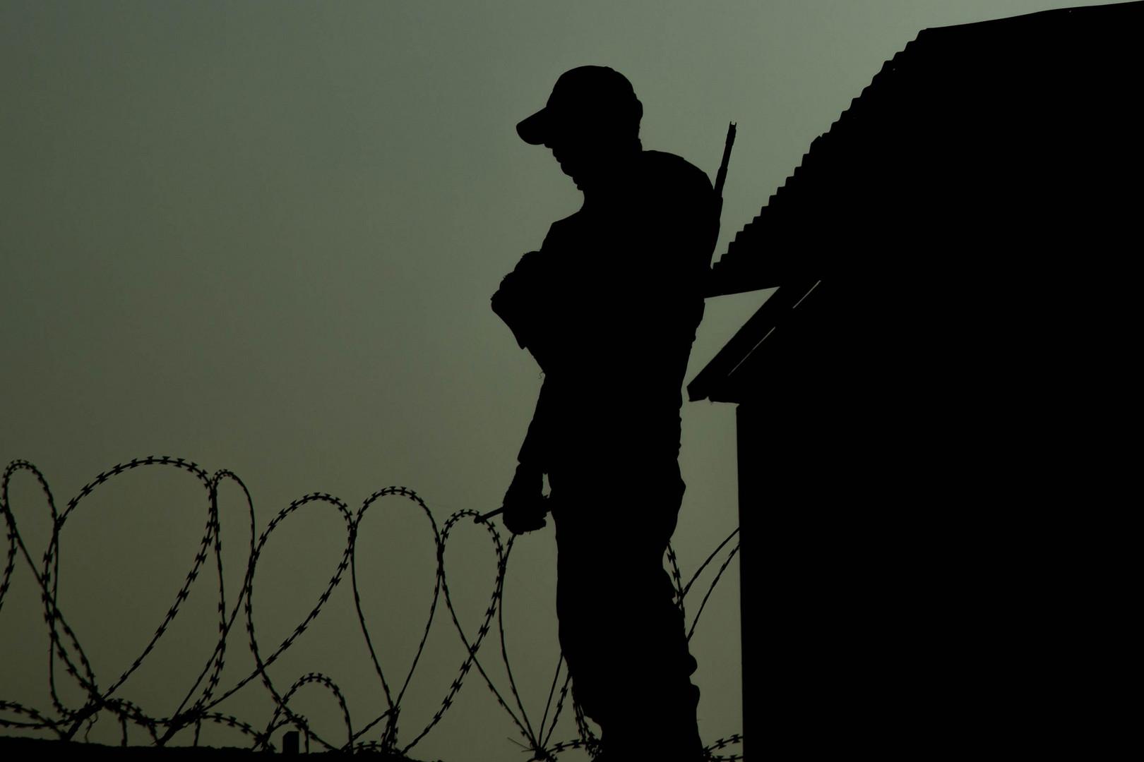 Security Guard in Kabul