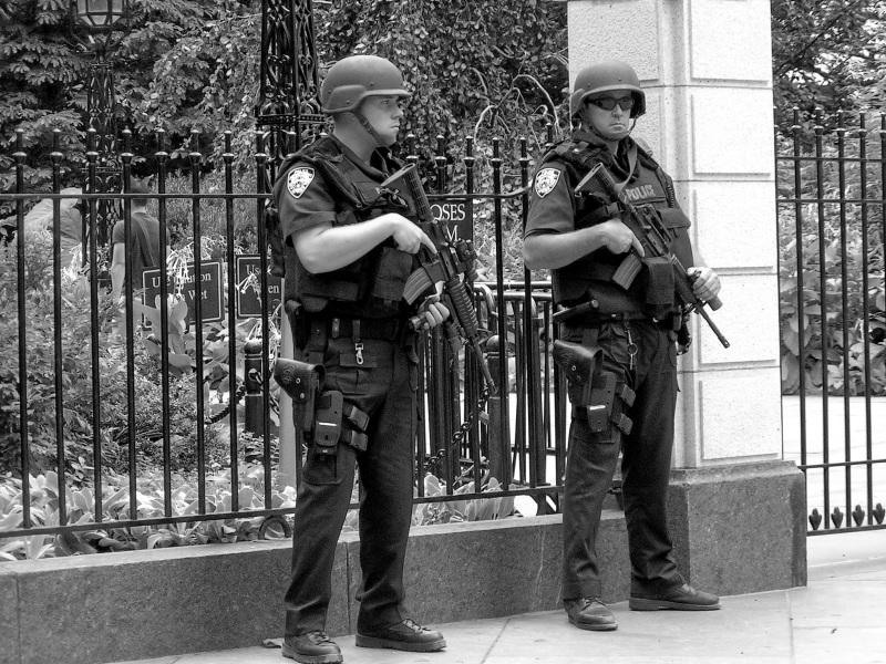 Security NYC 9/11/2004