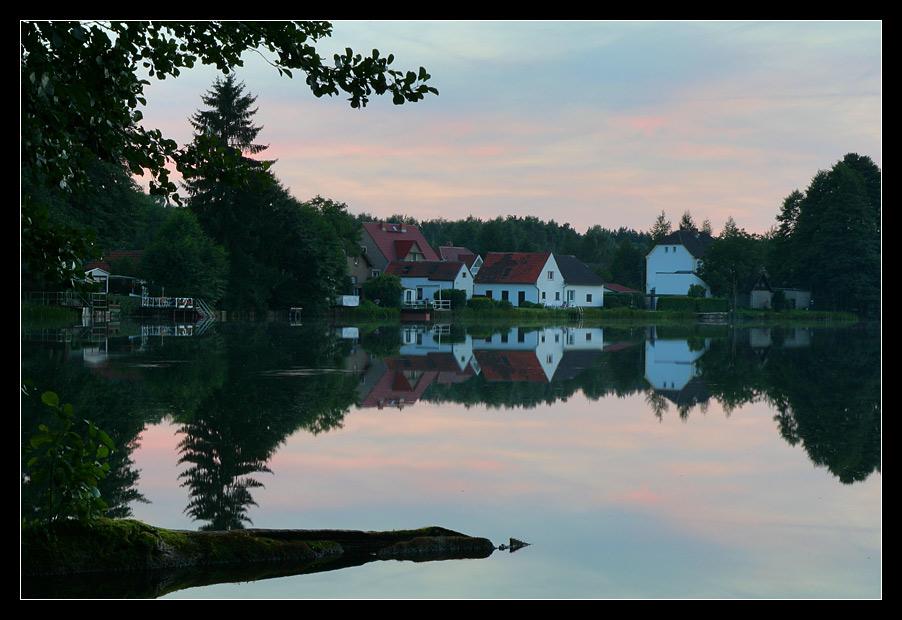 Seddiner See am Abend 2