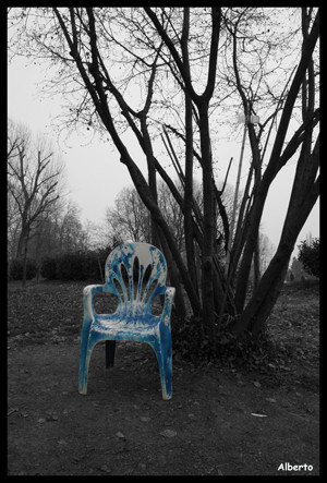 Sedersi al Parco Castello....