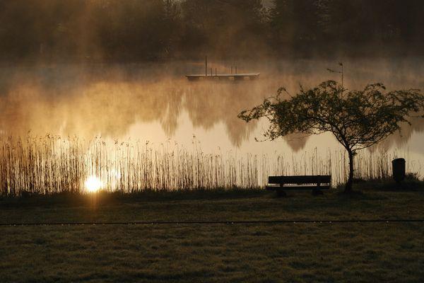 See am frühen Morgen