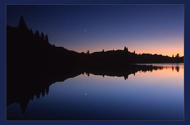 See, blaue Stunde, Venus und Sonnenuntergang (reload)