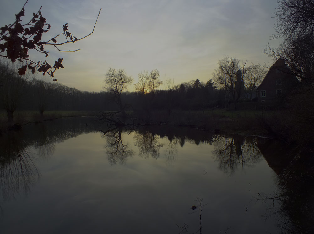 See hinter der Dyckburg zwischen Münster und Handorf