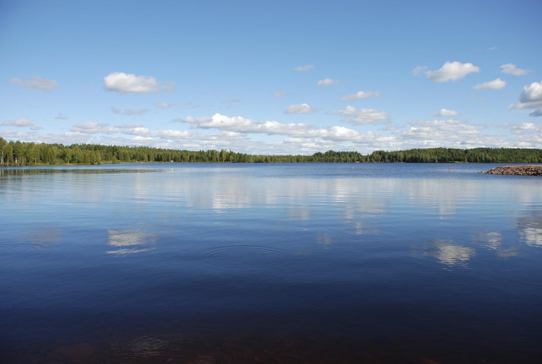 See in der Nähe von Rovaniemi