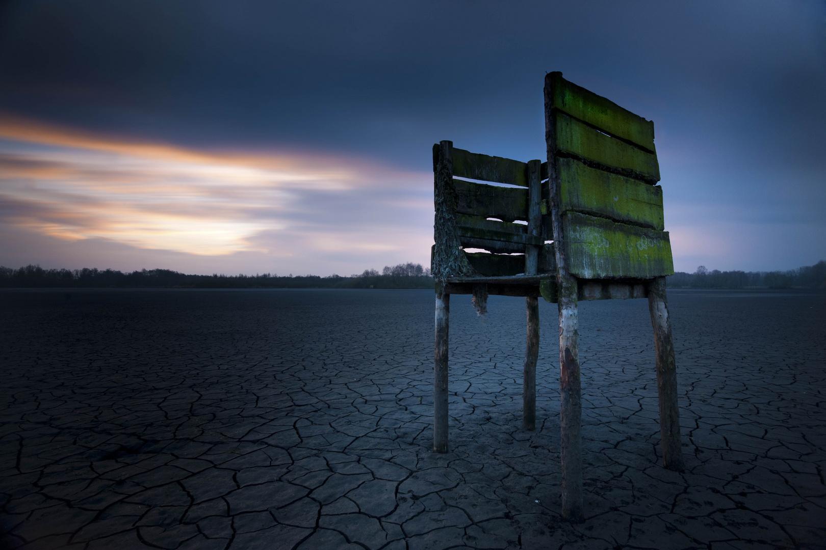 See ohne Wasser