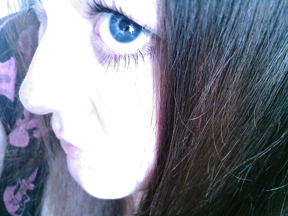 see the world with blue eyes..