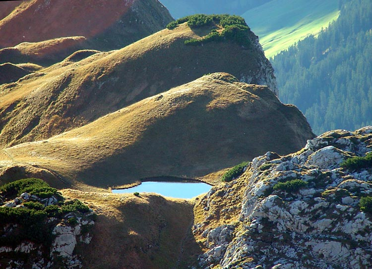 See über dem Lechtal am Biberkopf