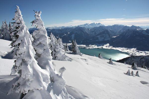 See und Schnee