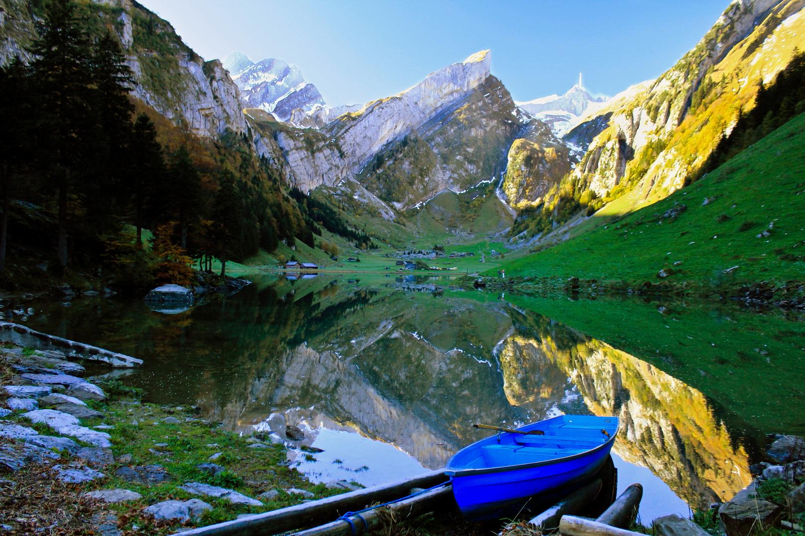 Seealpsee-Alpstein-Switzerland