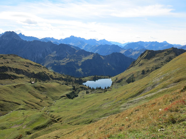 Seealpsee am Nebelhorn