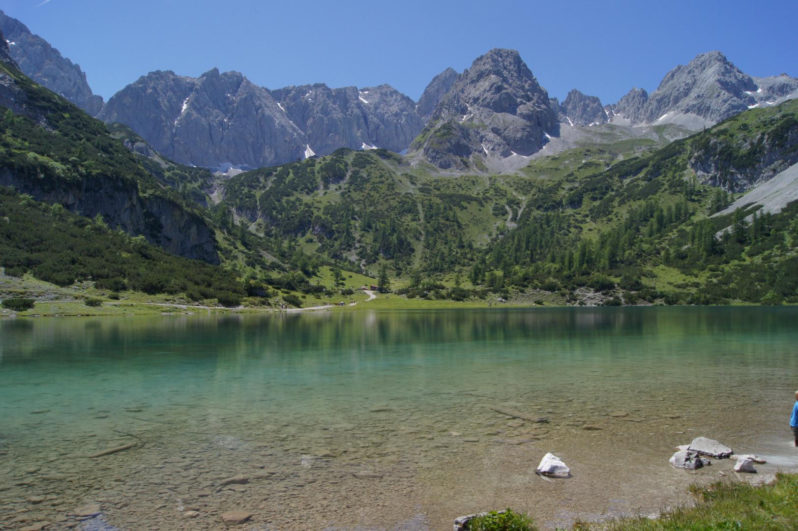 Seebensee, Zugspitze