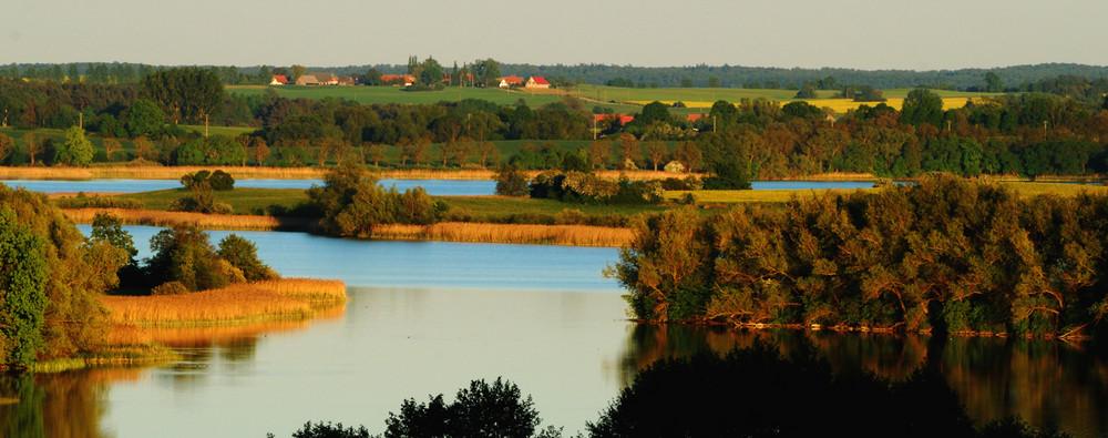 Seeblick in Mecklenburg-Strelitz