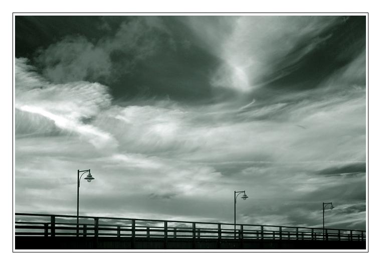 Seebrücke mal anders