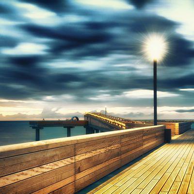 Seebrücke Polar