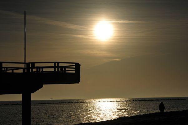 Seebrücke Sellin Sonnenaufgang